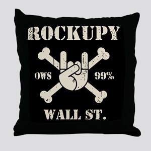 roccupy-BUT Throw Pillow